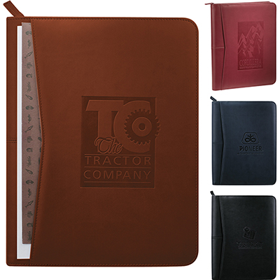 26985 - Pedova™ Zippered Padfolio