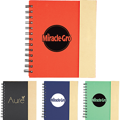 27028 - Lock-it Spiral Notebook
