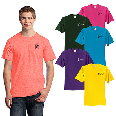 27338 - Fruit of the Loom®HD Cotton™100% Cotton T-Shirt
