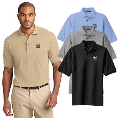 27343 - Port Authority® Tall Heavyweight Cotton Pique Polo