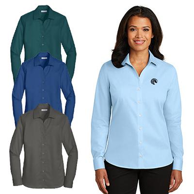 27351 - Red House® - Ladies Non-Iron Twill Shirt