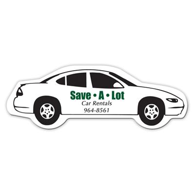 8275C - Bic® Medium Car Shape Magnet (20 Mil)