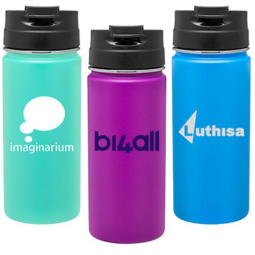 27490 - 16 oz. h2go Nexus Vacuum Stainless Steel Bottle