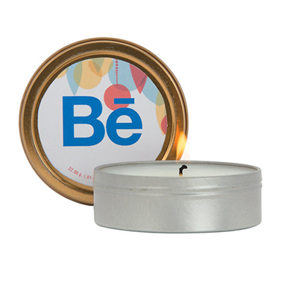 27545 - 2 oz. Soy Based Scented Candle