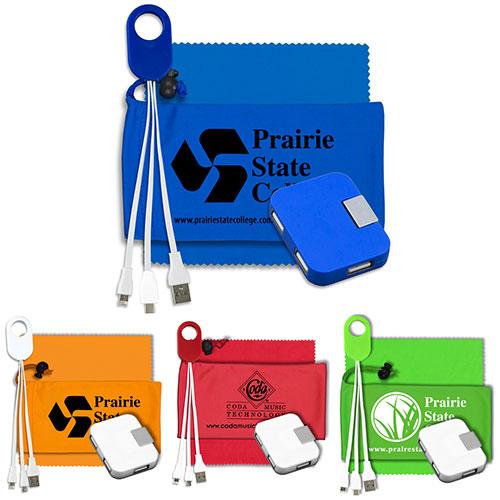 27723 - Mobile Tech Charging Kit with 4 Port USB Hub