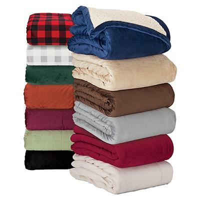28058 - Brookline Micro Mink Sherpa Blanket
