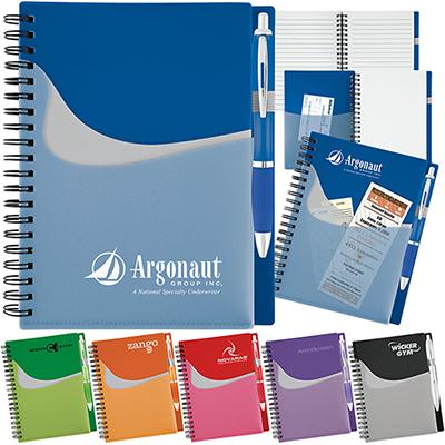 28360 - New Wave Pocket Buddy Notebook Set