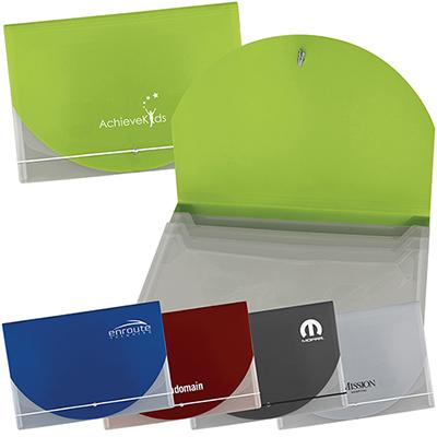 28403 - Color Flap Translucent Document Holder