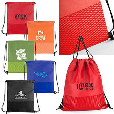 28414 - Orlando Non-Woven Cinch Bag