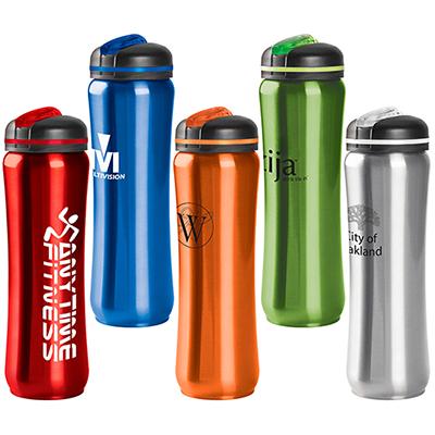 28419 - 28 oz. Slim Stainless Water Bottle