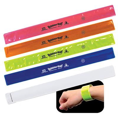 28557 - Reflective Safety Slap Bracelet