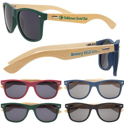 28590 - Wooden Bamboo Sunglasses