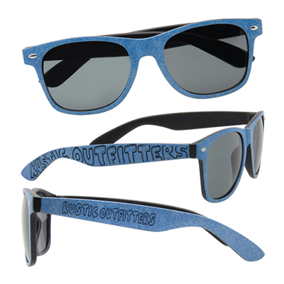 28593 - Denim Print Sunglasses