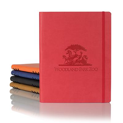 28873 - Tucson Ivory Hybrid Large Journal