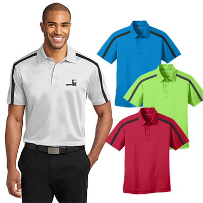 28951 - Port Authority®Silk Touch™ Performance Colorblock Stripe Polo