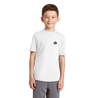 29056 - Port & Company®Youth Performance Blend Tee (White)