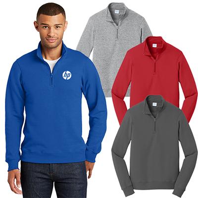 29066 - Port & Company®Fan Favorite™ Fleece 1/4-Zip Pullover Sweatshirt
