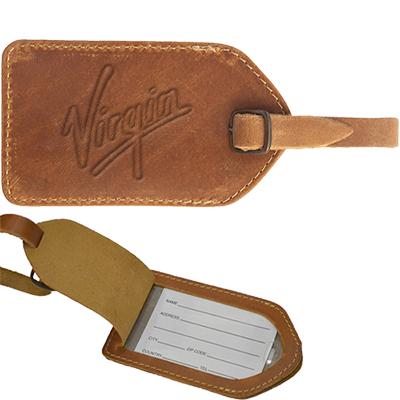 29143 - Barranca Canyon Leather Luggage Tag