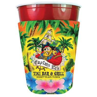 29355 - Party Cup Coolie - Full Color