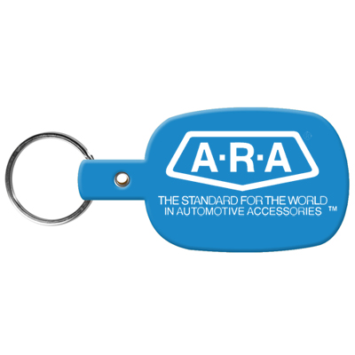 1648RR - Flexible Key Tags (Round Rectangle)