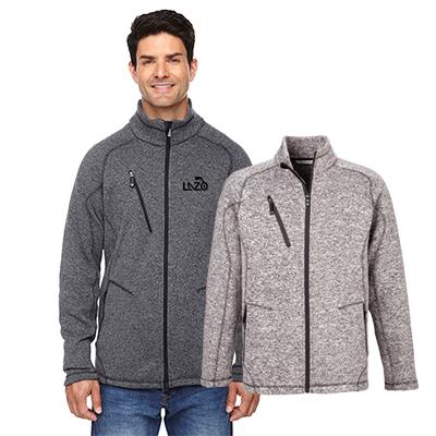 29614 - North End Men's Peak Sweater Fleece Jacket