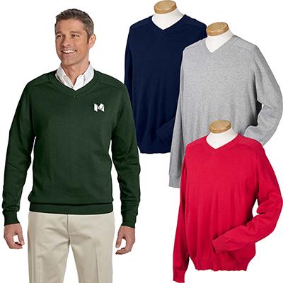 29636 - Devon & Jones Men's V-Neck Sweater