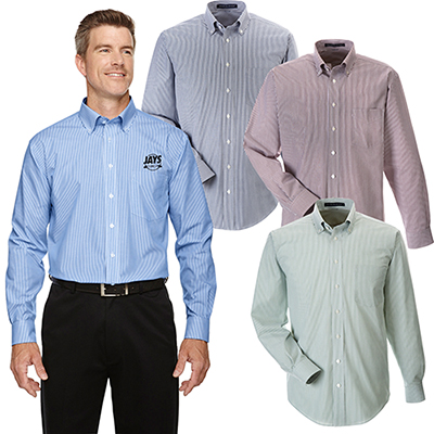 29641 - Devon & Jones Men's Banker Striped Shirt