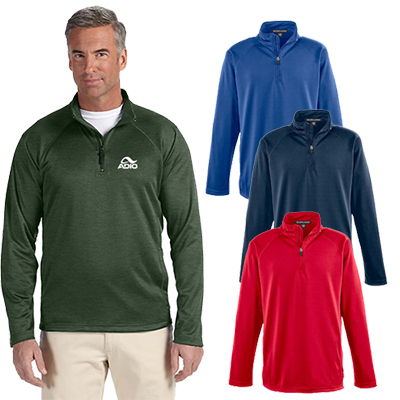 29653 - Devon & Jones Men's Stretch Tech-Shell® Quarter-Zip Jacket
