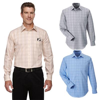29657 - Devon & Jones Men's Glen Plaid Shirt