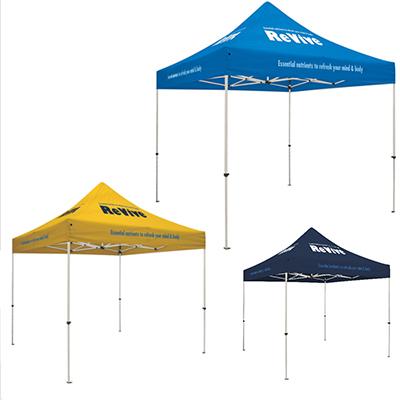 29783 - Standard Tent w/ 8 Location Imprint