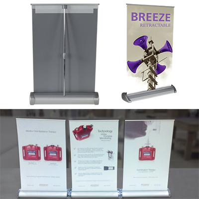 29823 - Breeze 2 Retractable Banner Stand