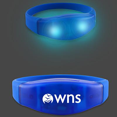 29883 - Power Up Flashing LED Bracelets - Blue