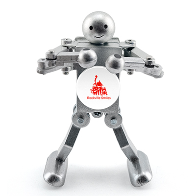 30017 - Boogie Bot - Metallic Silver
