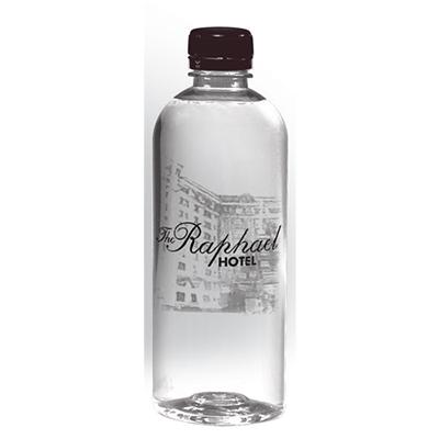 30126 - 16.9 oz. Custom Label Short Bullet Cylinder Bottled Water