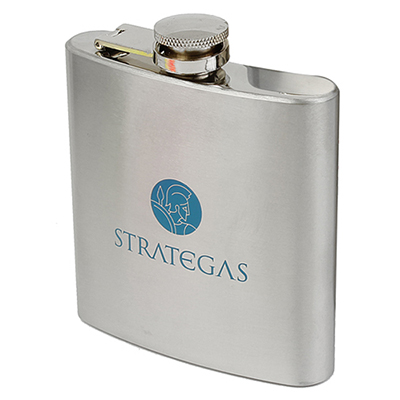 30160 - 6 oz. Stainless Steel Flask