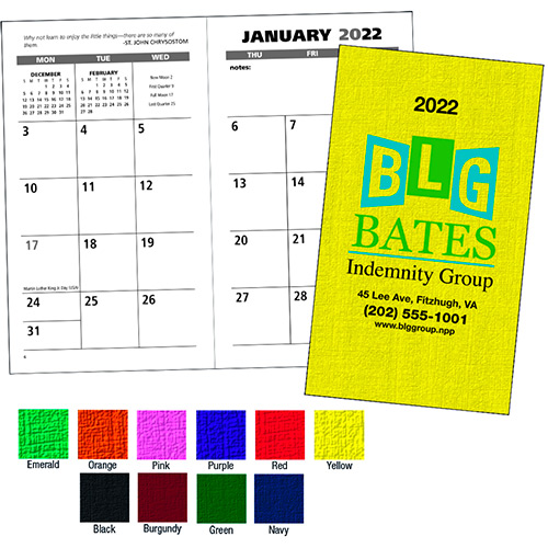 30233 - Value Monthly Pocket Planner