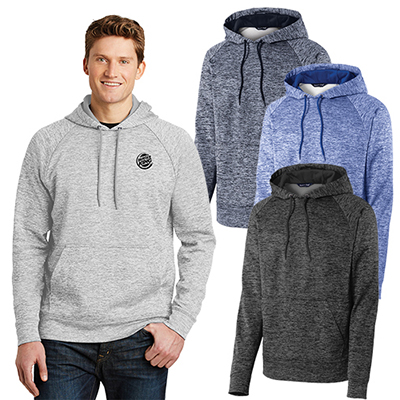 30403 - Sport-Tek® PosiCharge® Electric Heather Fleece Hooded Pullover