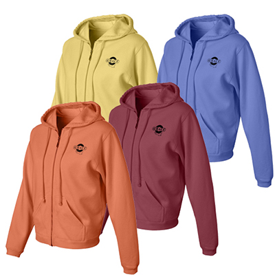 30447 - CC Ladies Zip Hooded Sweatshirt