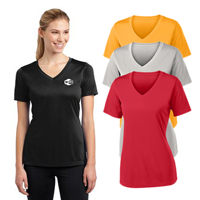 30458 - Sport-Tek® Ladies PosiCharge® Competitor™ V-Neck Tee