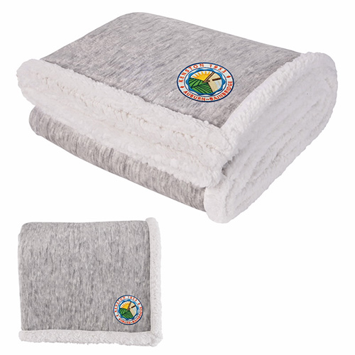 30719 - Two-Tone Sherpa Blanket
