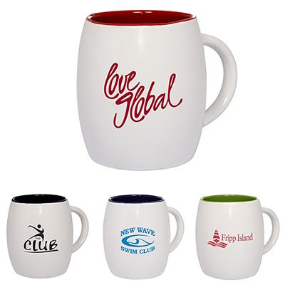 30762 - 14 oz. Morning Show Barrel Mug