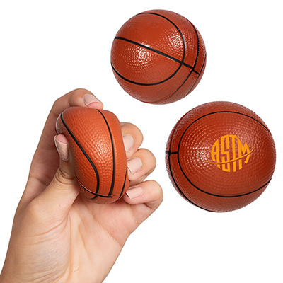 30905 - Basketball Super Squish Stress Reliever