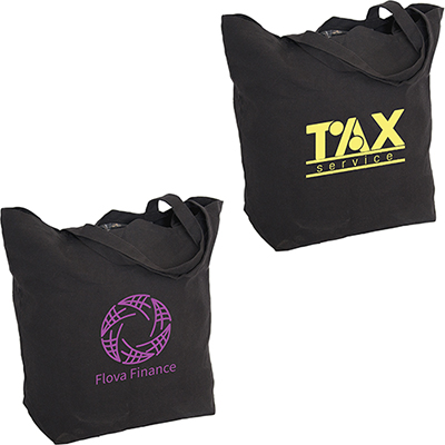 """30974 - 12 oz. Cotton Tote Bag with 7"""" gusset"""