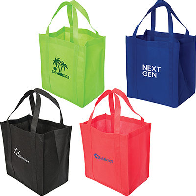 """30979 - Non-Woven Economy Tote with 8"""" Gusset"""
