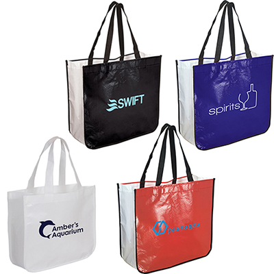 30986 - Extra Large Laminated Shopping Tote