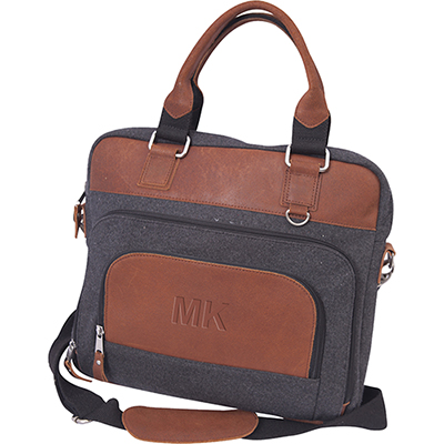31021 - Jonah Wool Briefcase