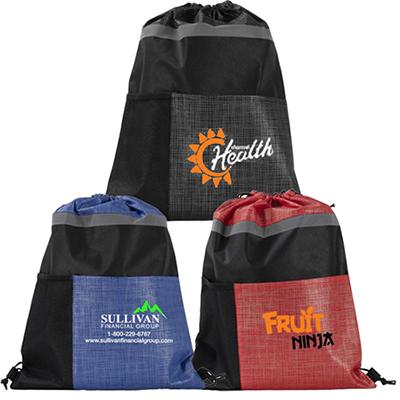 31066 - Full Color Athletic Drawstring Bag