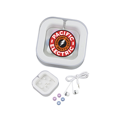 31095 - Ear Buds with Case - Full Color