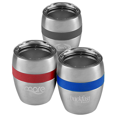 31112 - 10 oz. Color Band Stainless Steel Vacuum Cup