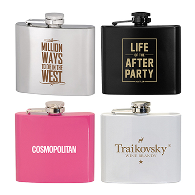 31140 - 5 oz. Stainless Steel Hip Flask